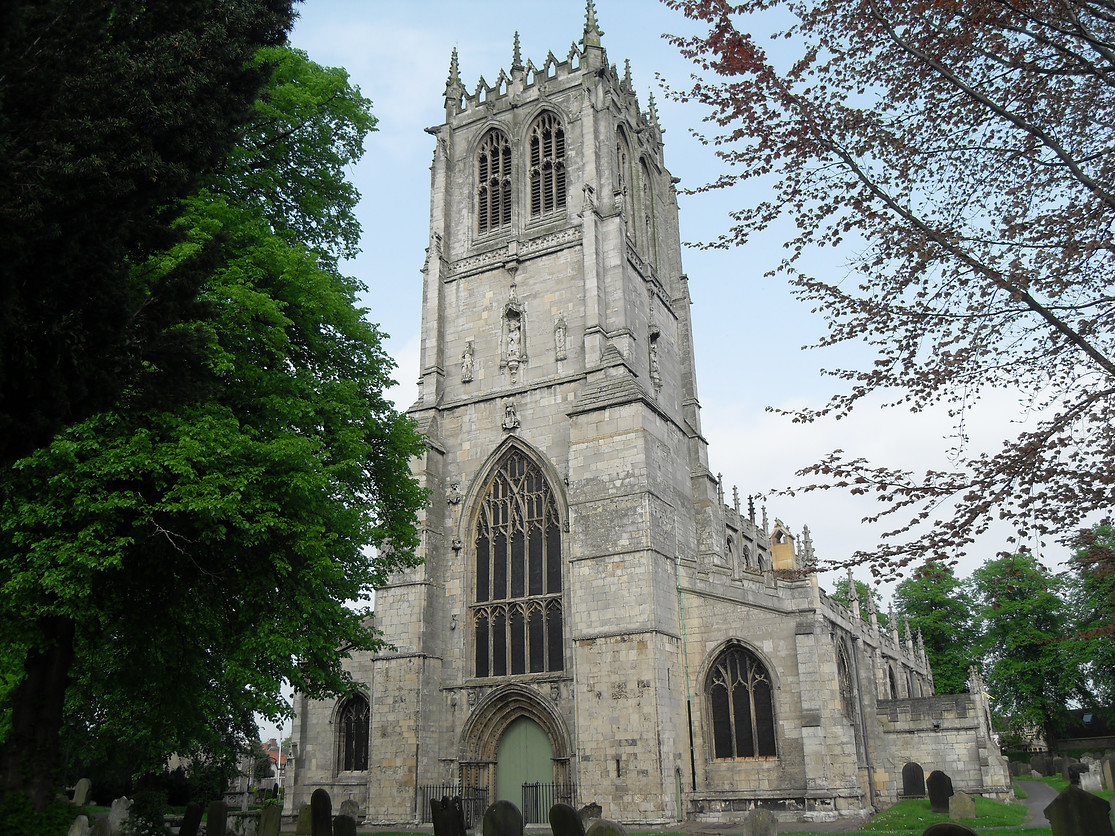 ST MARYS CHURCH TICKHILL
